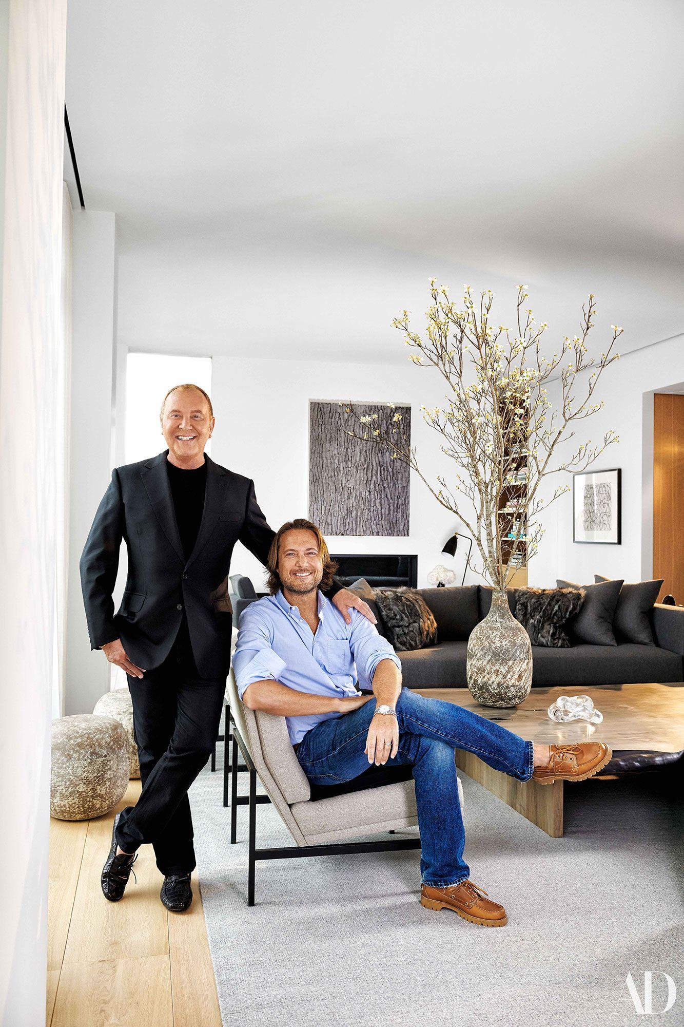 Michael kors architectural digest 1 greenwich village living room goals