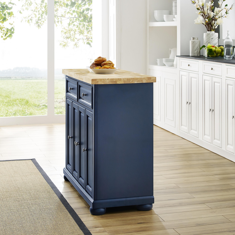 Crosley Butcher Block Kitchen Island In 2020 Butcher Block Island Kitchen Solid Wood Kitchens Solid Wood Kitchen Cabinets