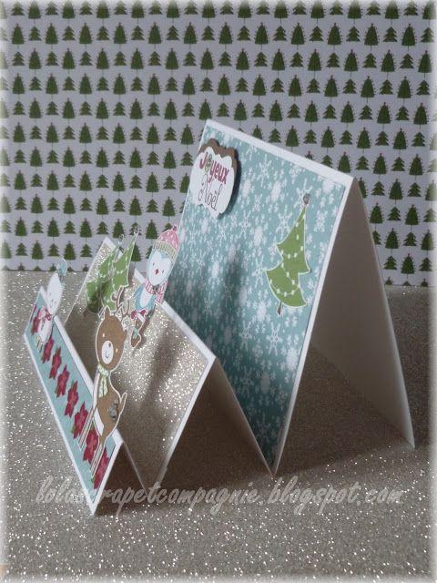 lolascrap et compagnie tutoriels et gabarits tuto carte chevalet carterie pinterest carte. Black Bedroom Furniture Sets. Home Design Ideas
