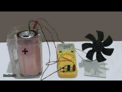Create Your Electricity By Making A Homemade Battery Using
