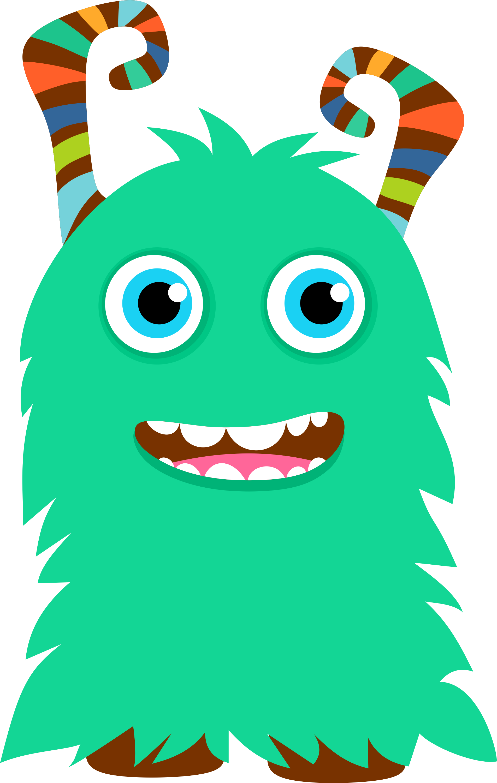 Little Monsters Clipart
