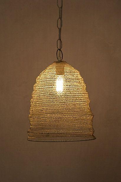 Mesh Beehive Pendant Pendant Lamp Pendant Light Mesh Lighting