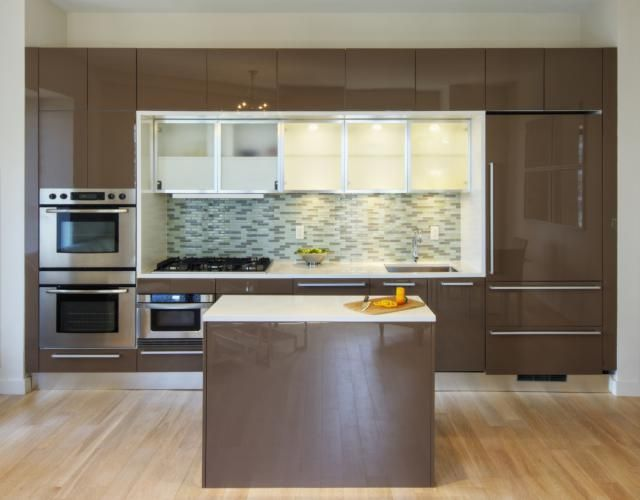 What To Know About Slab Cabinet Doors Cost Of Kitchen Cabinets Cheap Kitchen Cabinets Kitchen Cabinets Brands