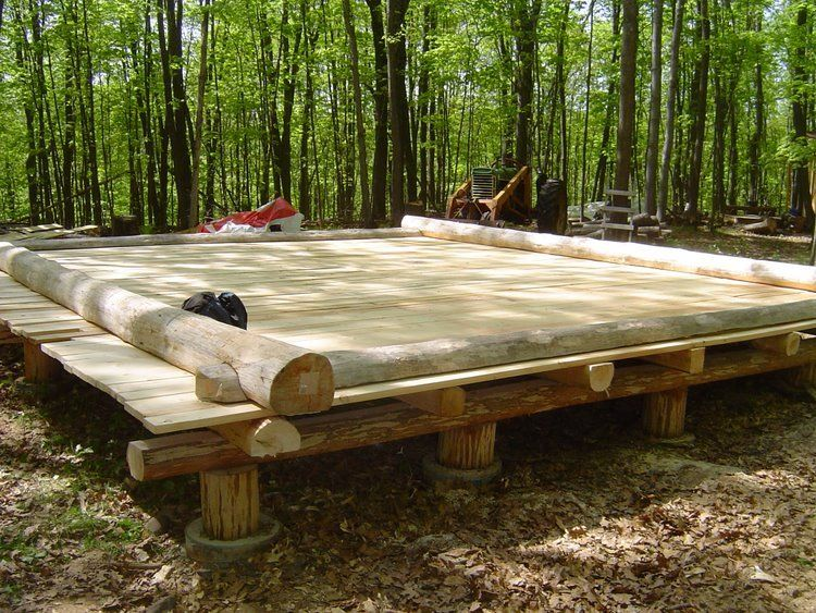 Cabin foundations new member and my first questions for Off grid cabin foundation