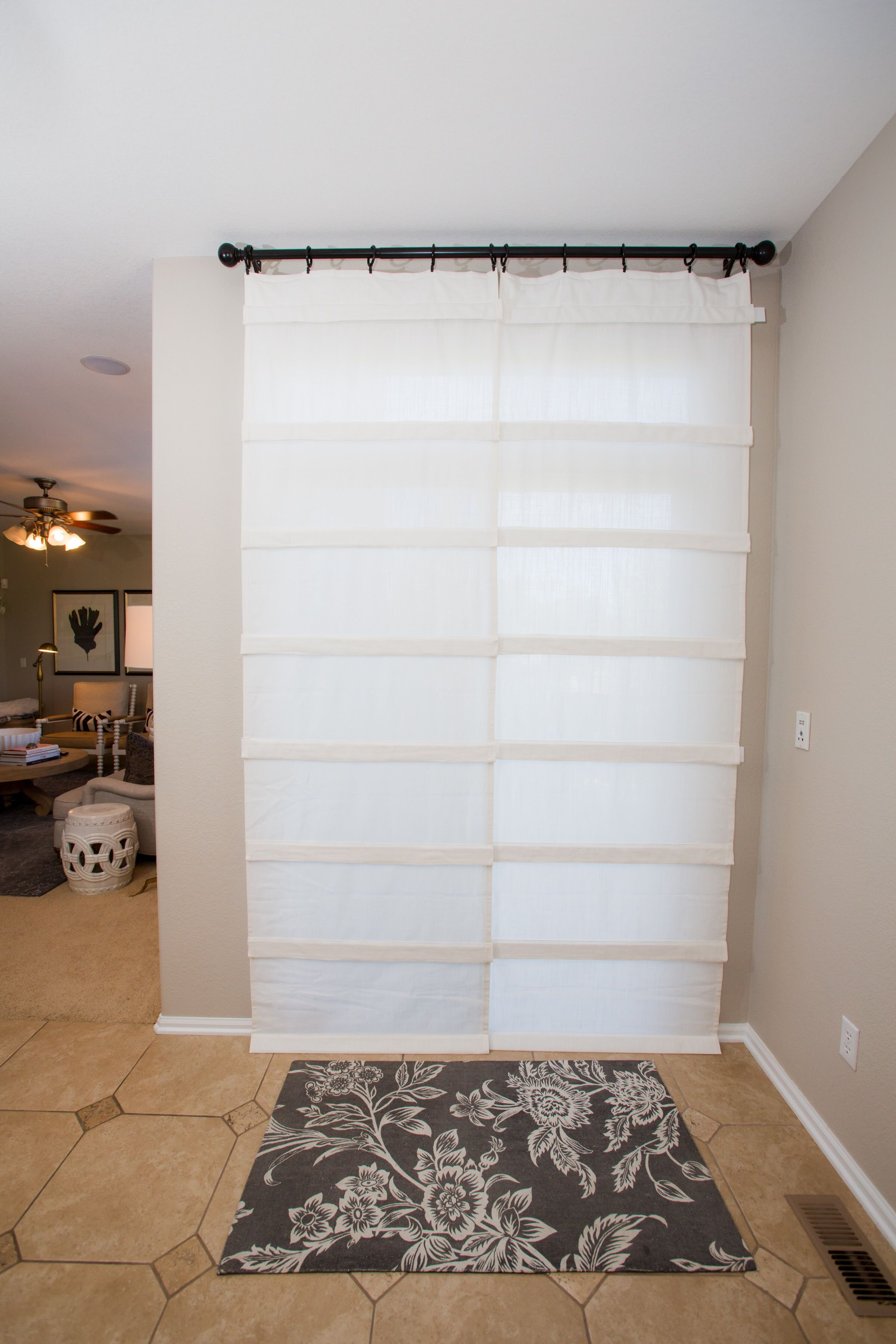 Versatile Affordable Sliding Glass Door Curtain It S A Shade And