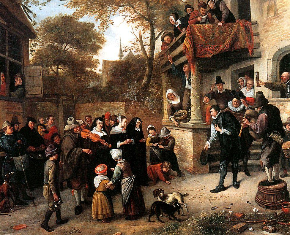TICMUSart: A village wedding - Jan Steen (I.M.)