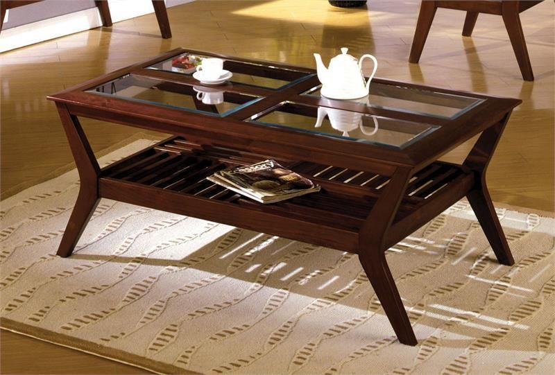 Furniture Of America Virginia Beach 3 Pc Occasional Table Set In
