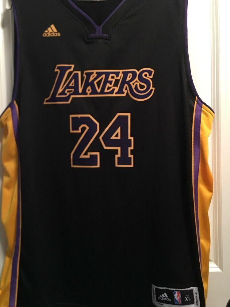 wholesale dealer 62946 1c0ec Kobe Bryant Los Angeles Lakers NBA Jersey Men XL Adidas ...