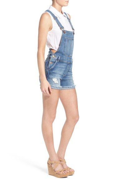 Free shipping and returns on STS Blue Distressed Short Overalls (Stinson) at Nordstrom.com. Stretch-denim cutoff overalls feature a traditional bib-and-brace front and V-back design with distressed threadbare patches adding a lived-in feel.