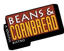 Beans And Cornbread Logo Beans And Cornbread Southern Recipes Soul Food Cornbread