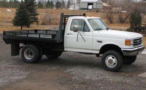 Ford Diesel Dually Flatbed Truck 4x4 Mitula Cars Trucks Old Pickup Trucks Big Ford Trucks
