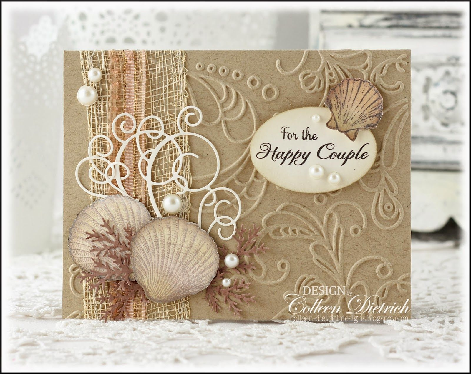 The Bridal Collection Part 3 Wedding Cards Handmade Beach