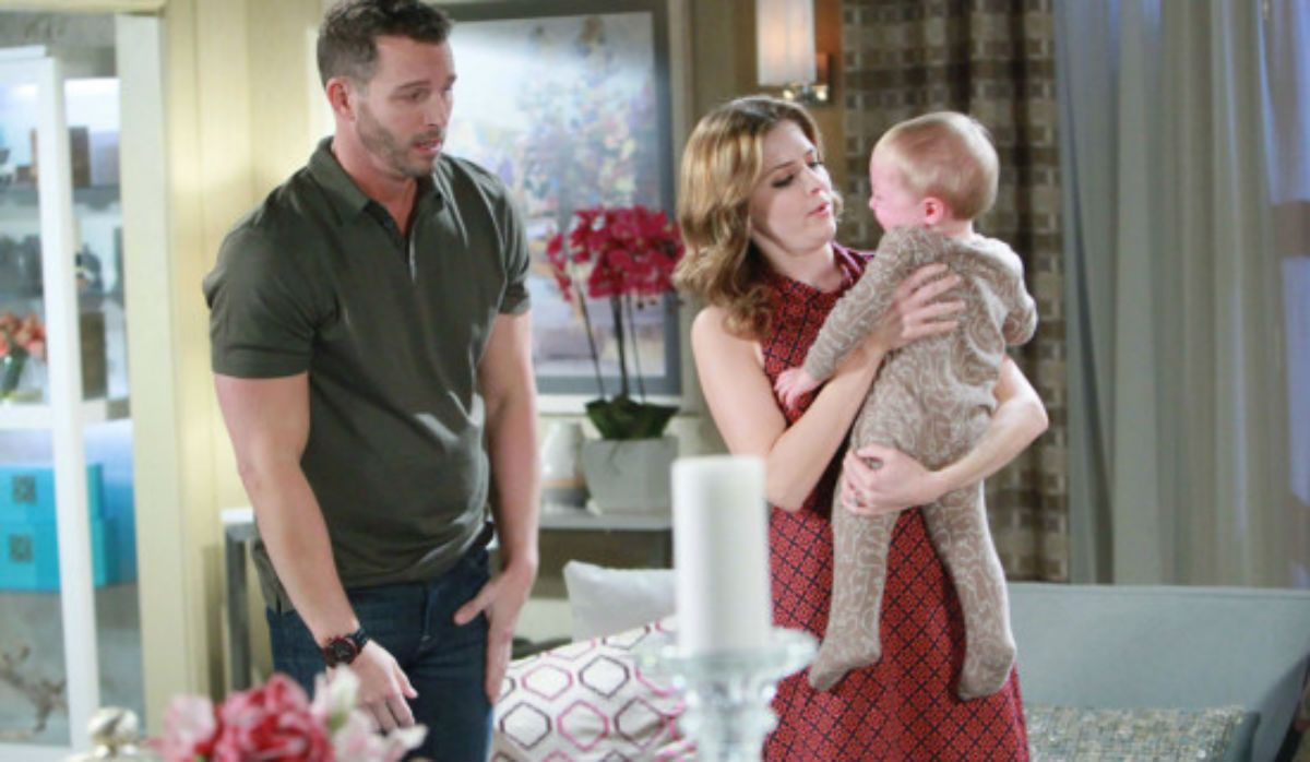 Brady Teresa And Baby Tate Days Of Our Lives Soap News Dool