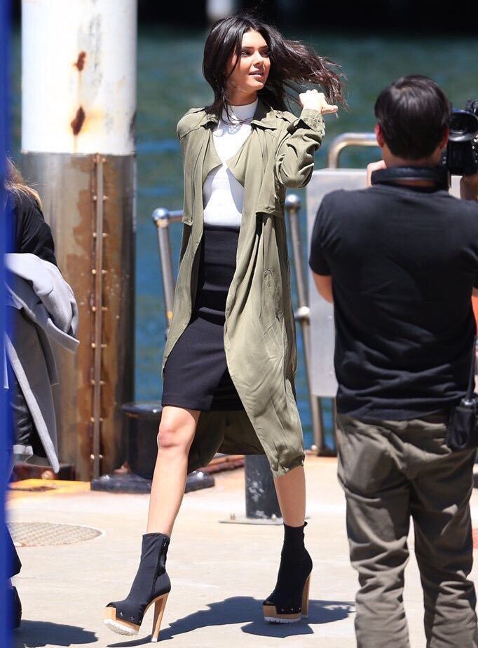 Kendall Jenner's fall look