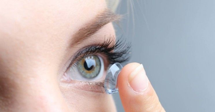Eye diseases caused by contacts types of contact lenses