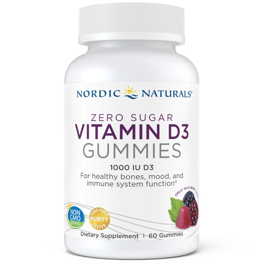 Zero Sugar Vitamin D3 Gummies In 2020 Nordic Naturals Vitamins Vitamin D3