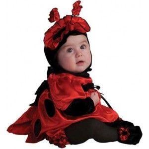Déguisement bébé coccinelle ladybug de toute beauté avec petits chaussons  bébé et chapeau avec antennes coccinelle