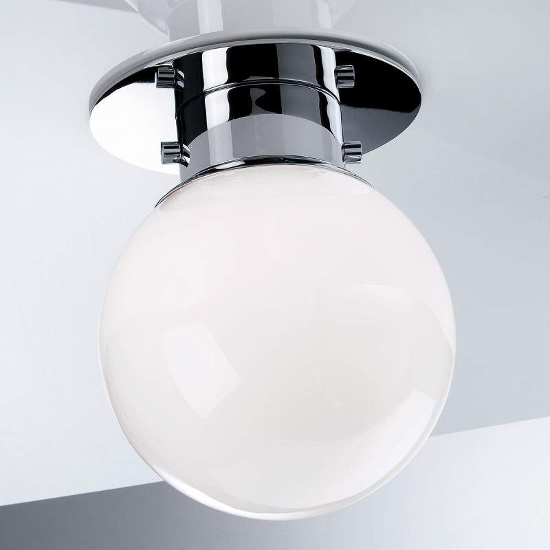 Klassieke Bolvormige Plafondlamp Globe Chroom Plafondlamp Plafondverlichting Lampen