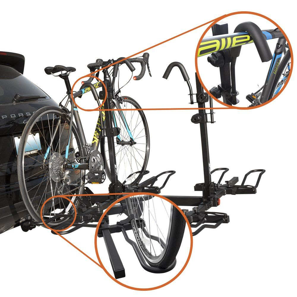 BV Bike Bicycle Hitch Mount Rack Carrier for Car Truck SUV