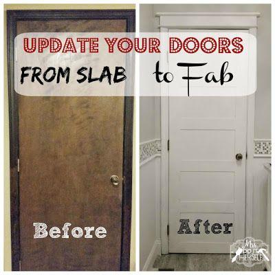 From Slab To Fab Diy 5 Panel Door 5 Panel Doors Diy