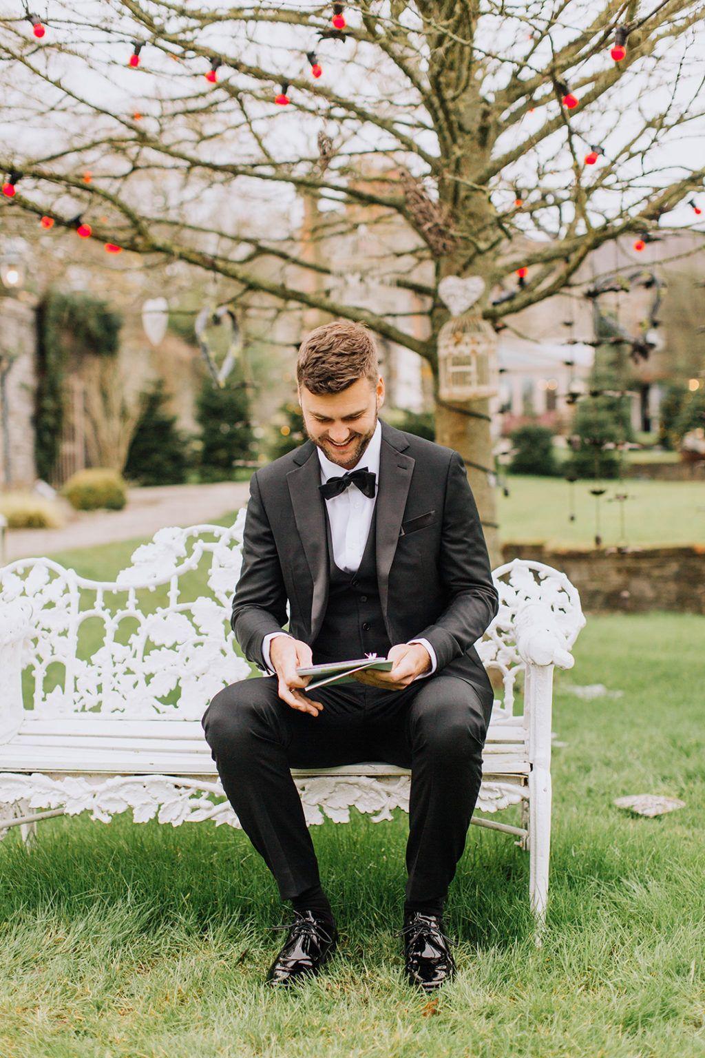 From Australia To Ballymagarvey A Perfect Christmas Wedding Onefabday Com Ireland In 2020 Groom Style Christmas Wedding Wedding