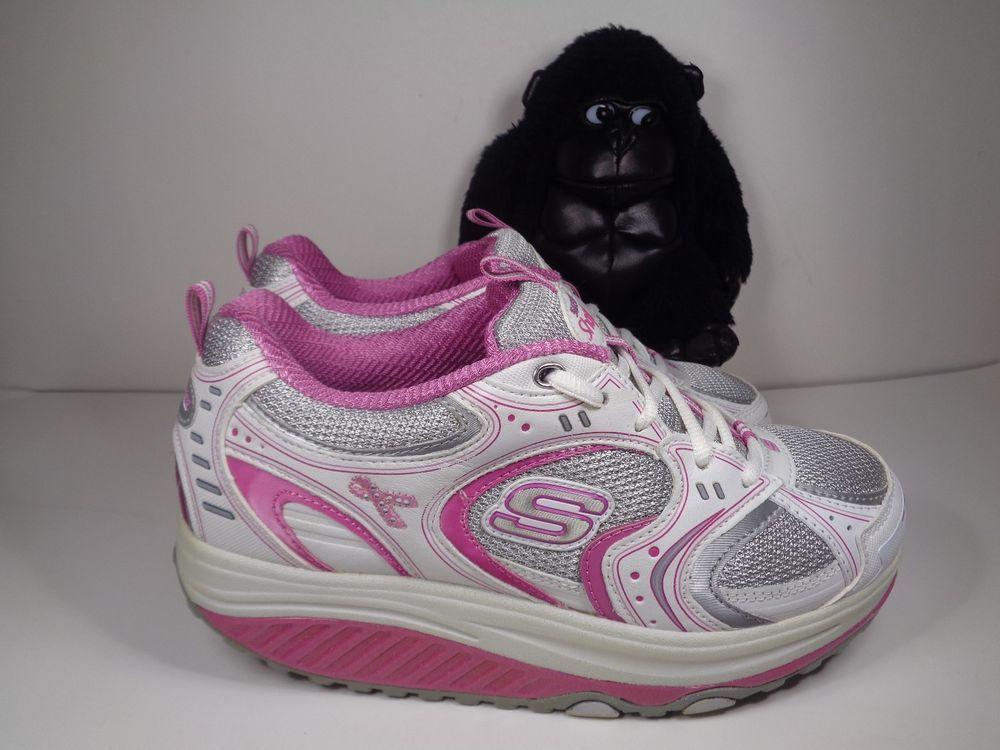 Womens Skechers Shape Ups Running Cross Training Shoes Size 9 US SN 12309