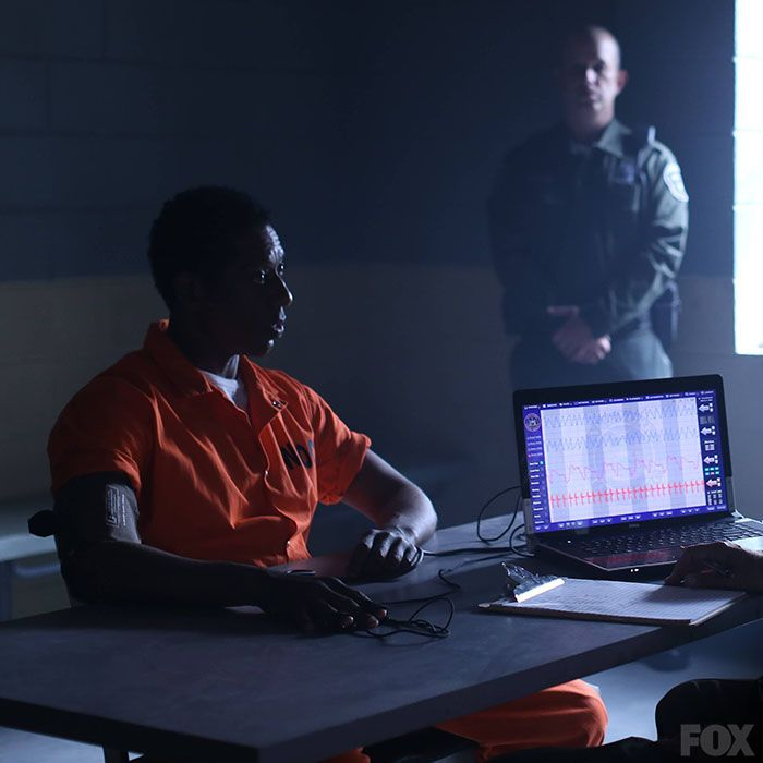 Irving undergoes a lie detector test in hopes of clearing his name, but the new Captain isn't buying his story.