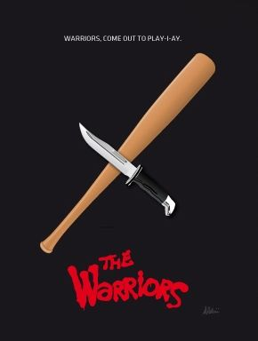 The Warriors (1979) ~ Minimal Movie Poster by Andrea Aldini