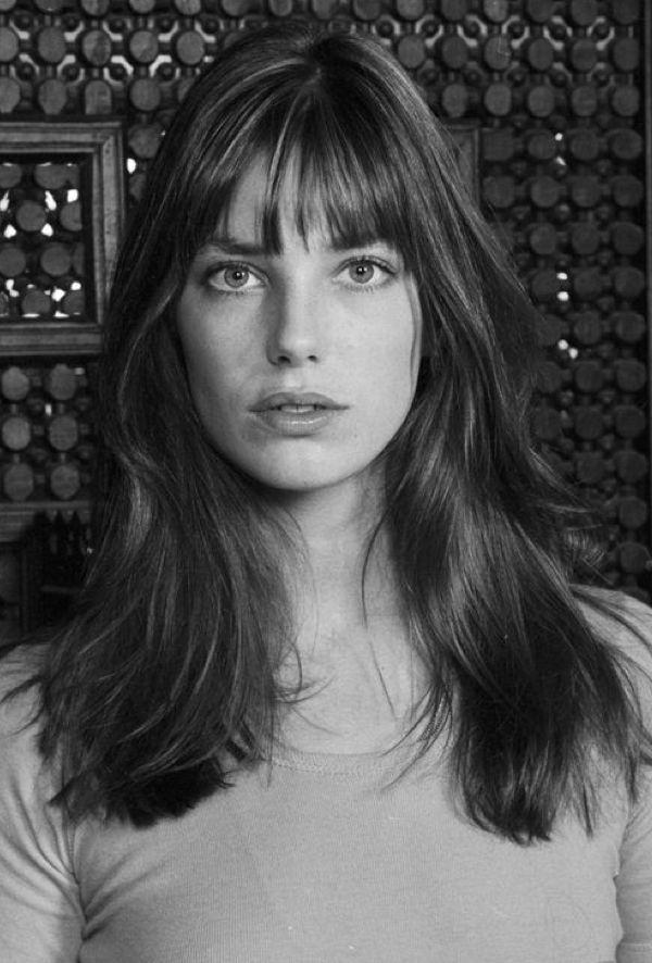 Jane Birkin | Medium hair styles, Jane birkin, Round face ...