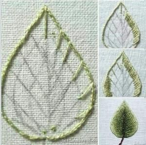 different kinds of hand embroidery stitches #Handembroiderystitches by tami