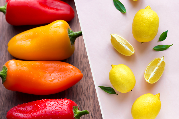 You're Either A Lemon Or You're A Pepper — Take This Quiz