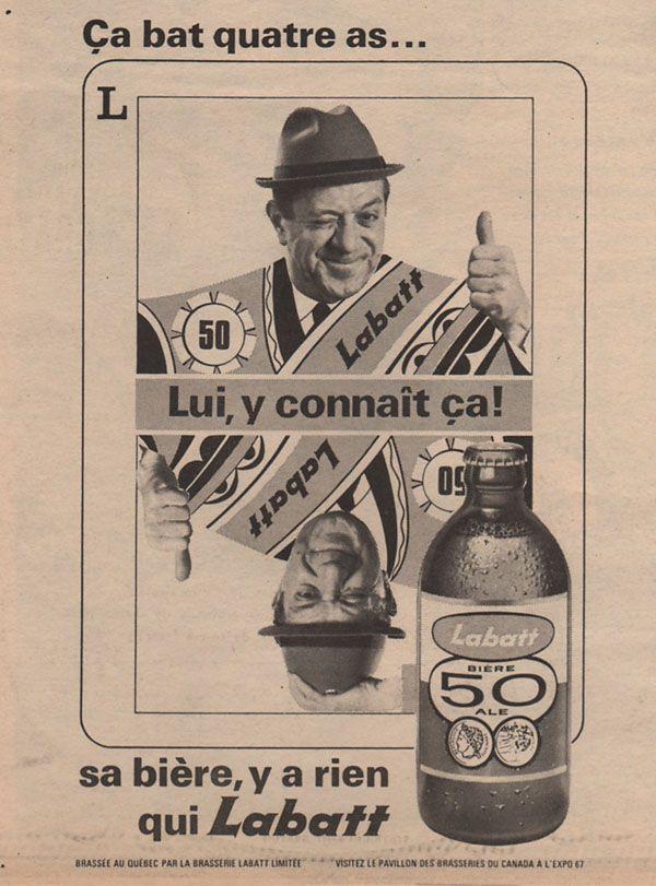 7f153913 Labatt 50 Beer Poster, More Images, My Youth, Vintage Recipes, Vintage  Ephemera