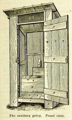 How to build an Outhouse. | Interesting things | Pinterest ...