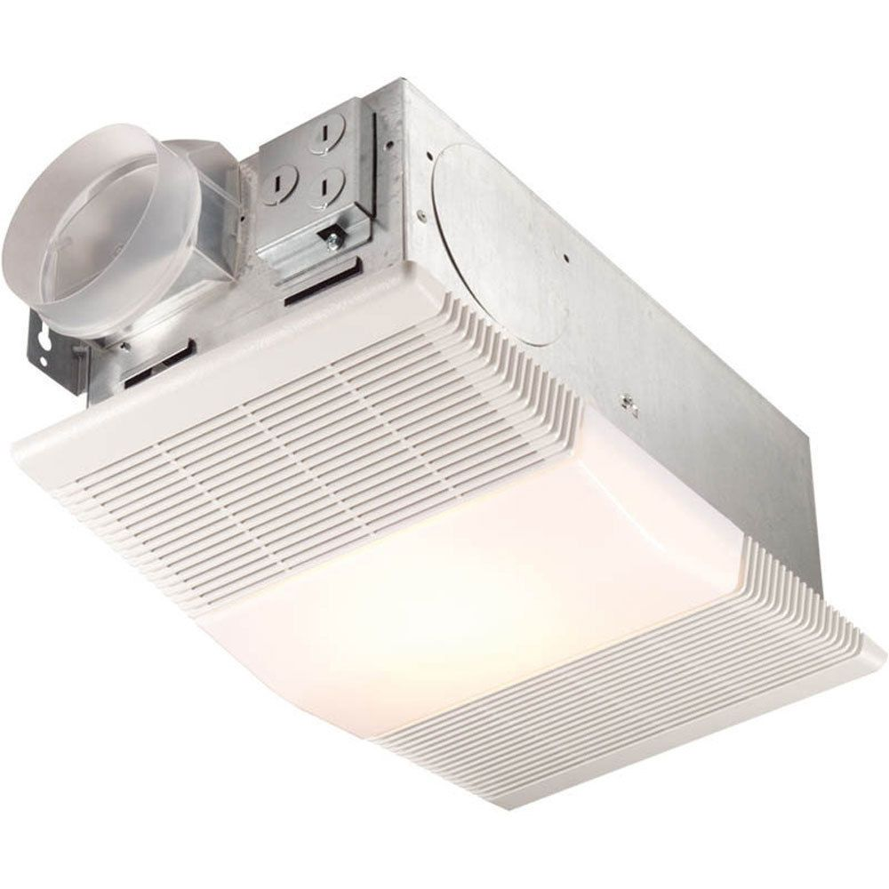 NuTone Model 665RP Bathroom Ceiling Vent Exhaust Fan Light And Heater 70  CFM NEW #NuTone