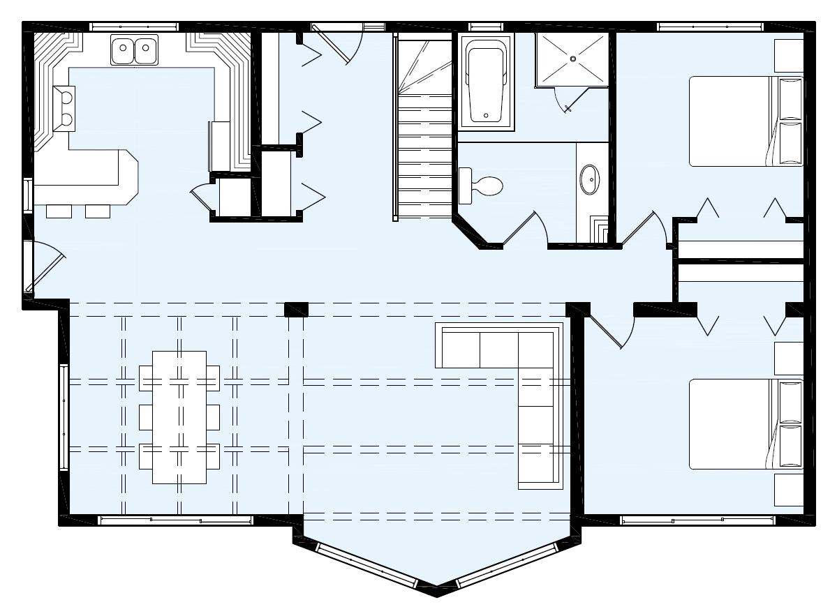 Maison Neuve Chalets Modèle St Adele Home House Plans Mini House