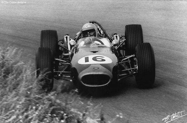 f1 Jack Brabham-Brabham BT19-1966 Dutch Grand Prix - Zandvoort