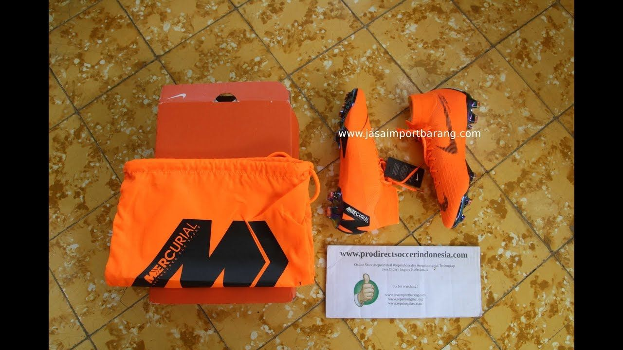 Sepatu Bola Nike Superfly Vi Elite Fg Total Orange Ah7365810