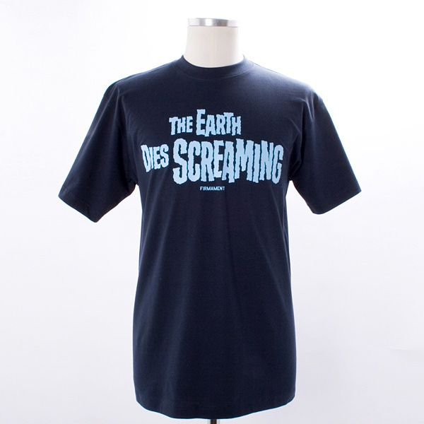 Firmament Screaming T-Shirt - The Earth Dies Screaming... new sci-fi inspired graphic t-shirt from Firmament!