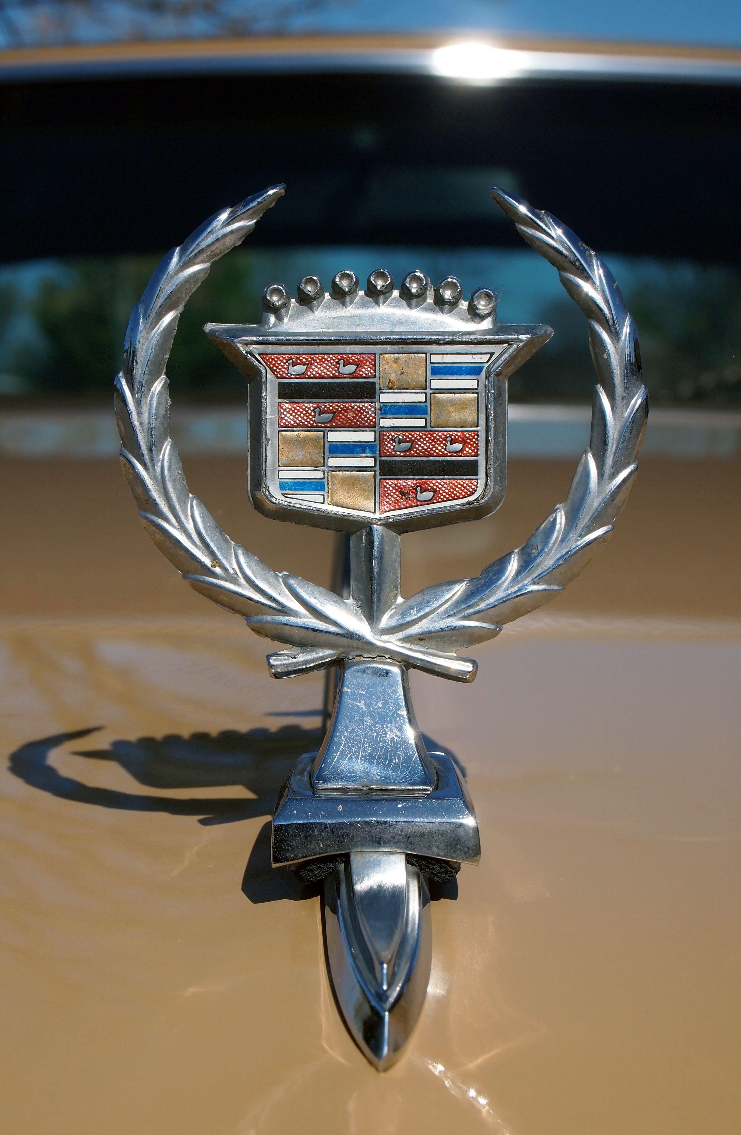 Cadillac 1974 hood ornat Spotted 4-9-16 | CAR badges-ornat ...