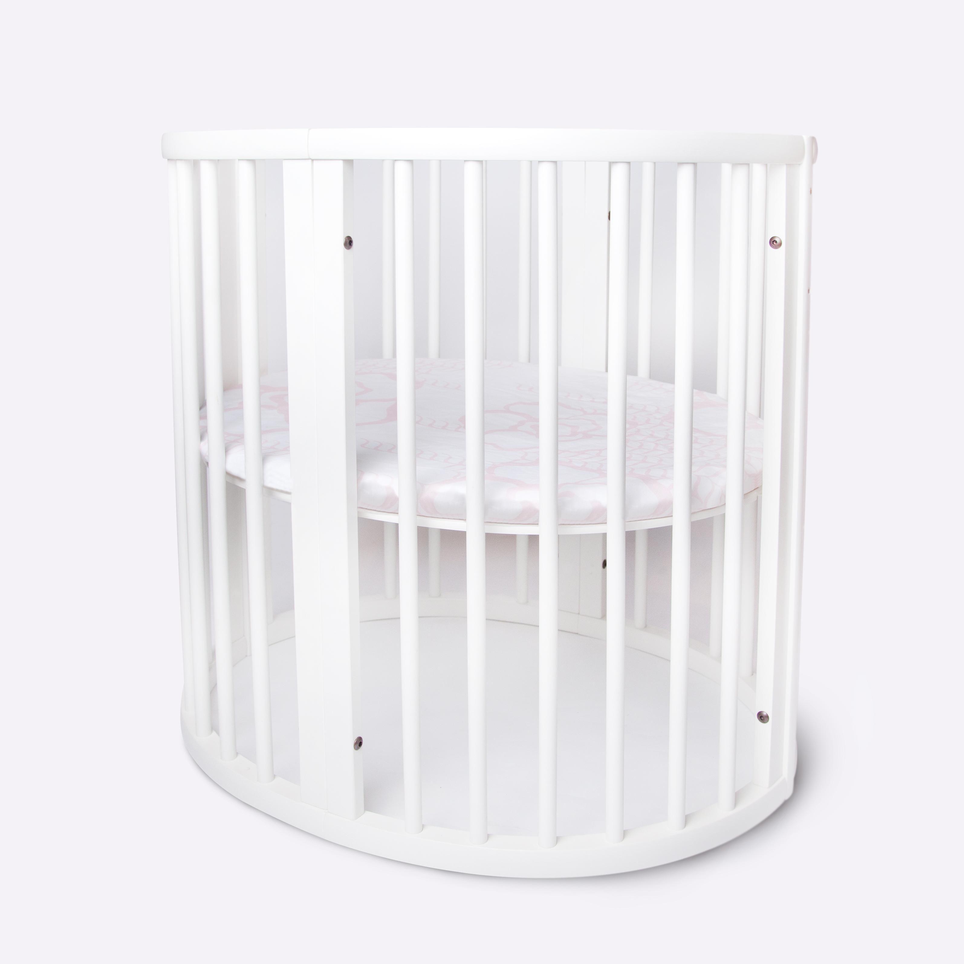 Crib for sale louisville ky - Modern Oval Shaped Scandinavian Designed Newborn Baby Crib Stokke Sleepi Mini Oilo Studio Bedding Oval