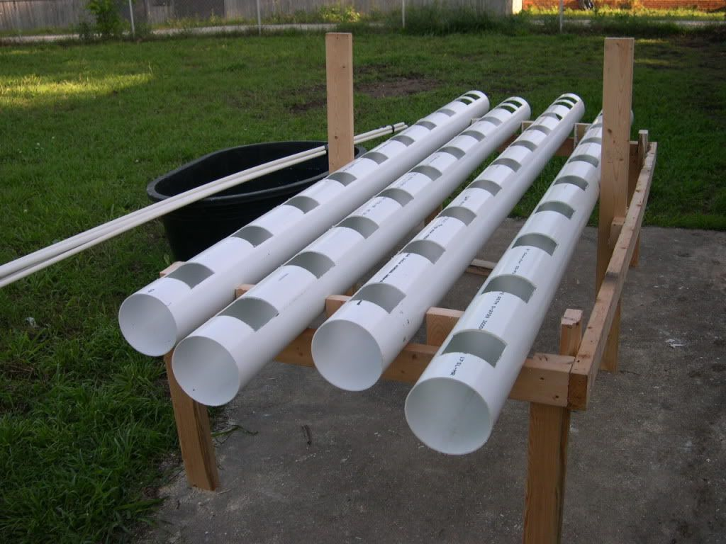 Aquaponic this is sewer pipe not pvc sewer pipe is much for Sewage piping system