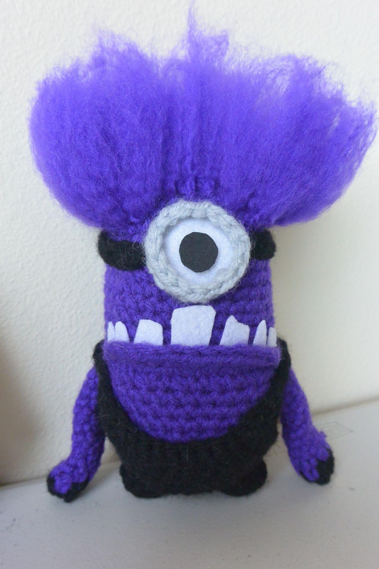 Aug 22 Despicable Me 2: Evil Minion Crochet & Hair Tutorial | Häkeln