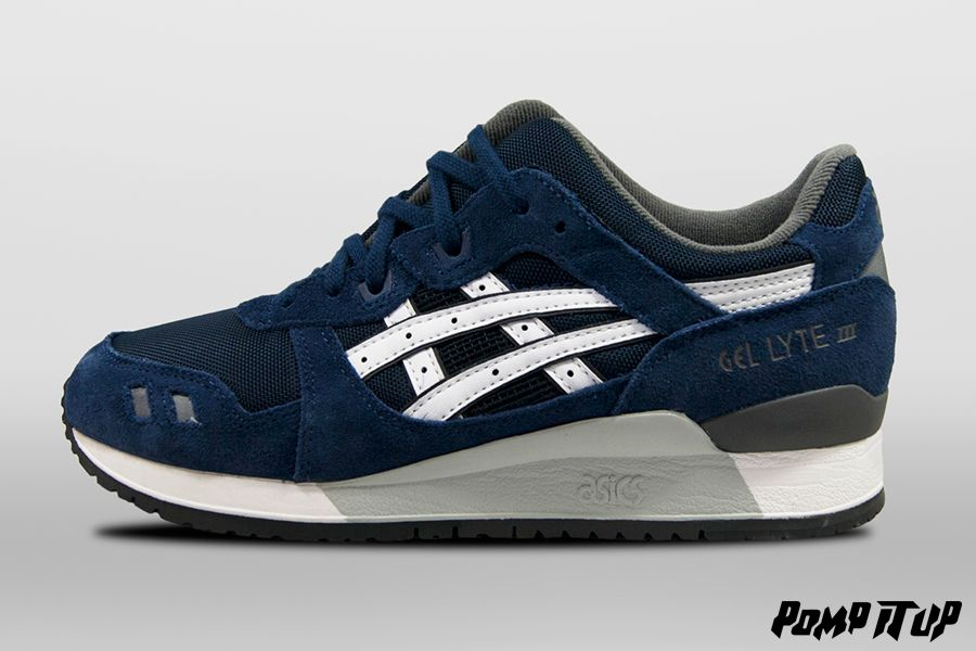 Asics Gel Lyte III (NavyWhite) For Men Sizes: from 40.5 to