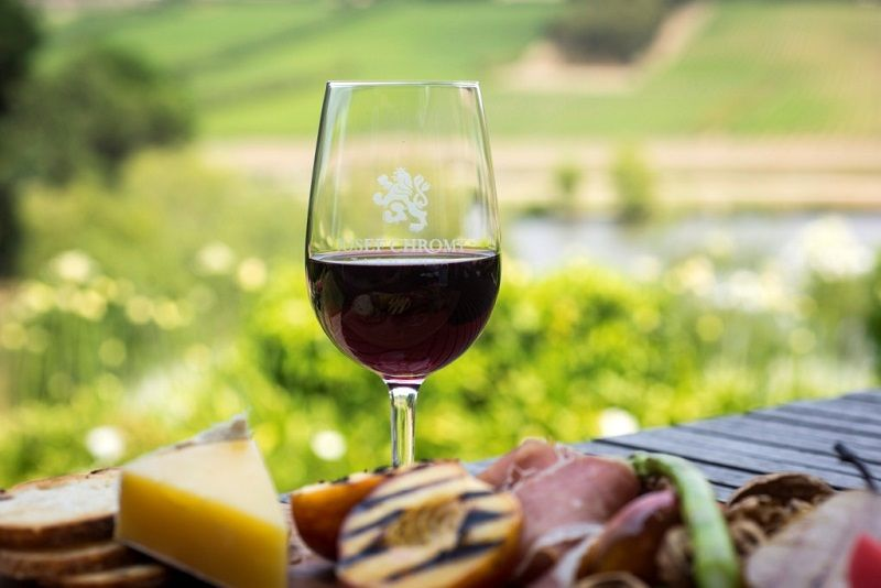 Enjoy a complementary tasting at our Cellar Door and then retire to the Restaurant for a two course lunch of fine Tasmanian produce matched with wines.