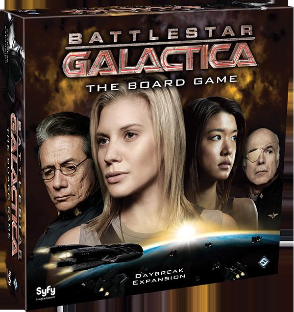 Battlestar Galactica Daybreak Expansion Release Date