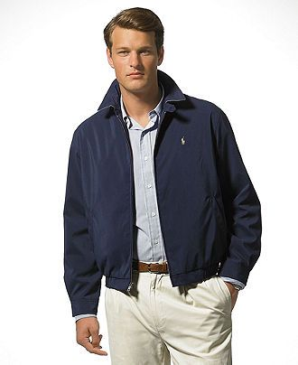 Polo Ralph Lauren Jacket, Core Classic Windbreaker - Mens Coats ...
