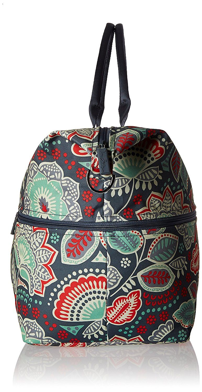 e96f326558 Vera Bradley Luggage Women s Lighten Up Expandable Travel Bag Nomadic  Floral Travel Tote