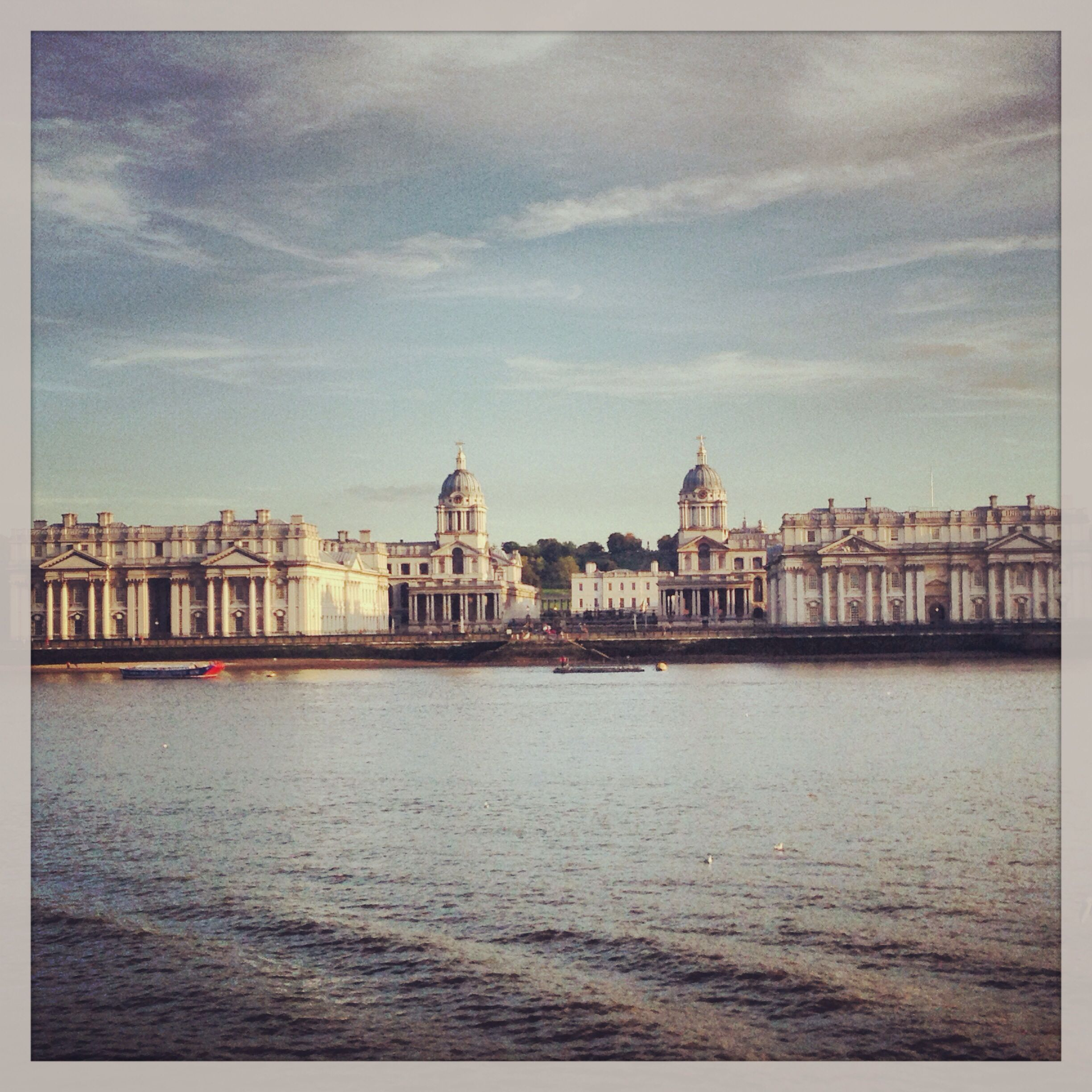 View of the Old Royal Naval College