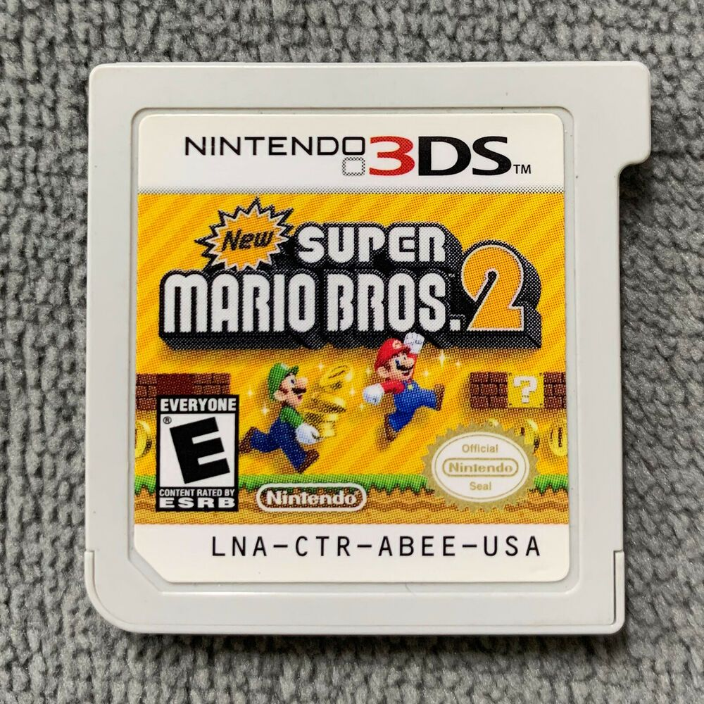 New Super Mario Bros 2 For Nintendo 3ds 2ds Original Usa Game Cartridge Only Nintendoswitch Nintendo Swit Mario Bros Nintendo 3ds Games Super Mario Bros