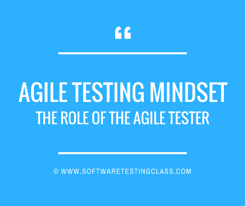 Agile Testing Mindset And The Role Of The Agile Tester!!